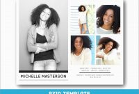 Inspirational Free Comp Card Template  Best Of Template for Free Model Comp Card Template