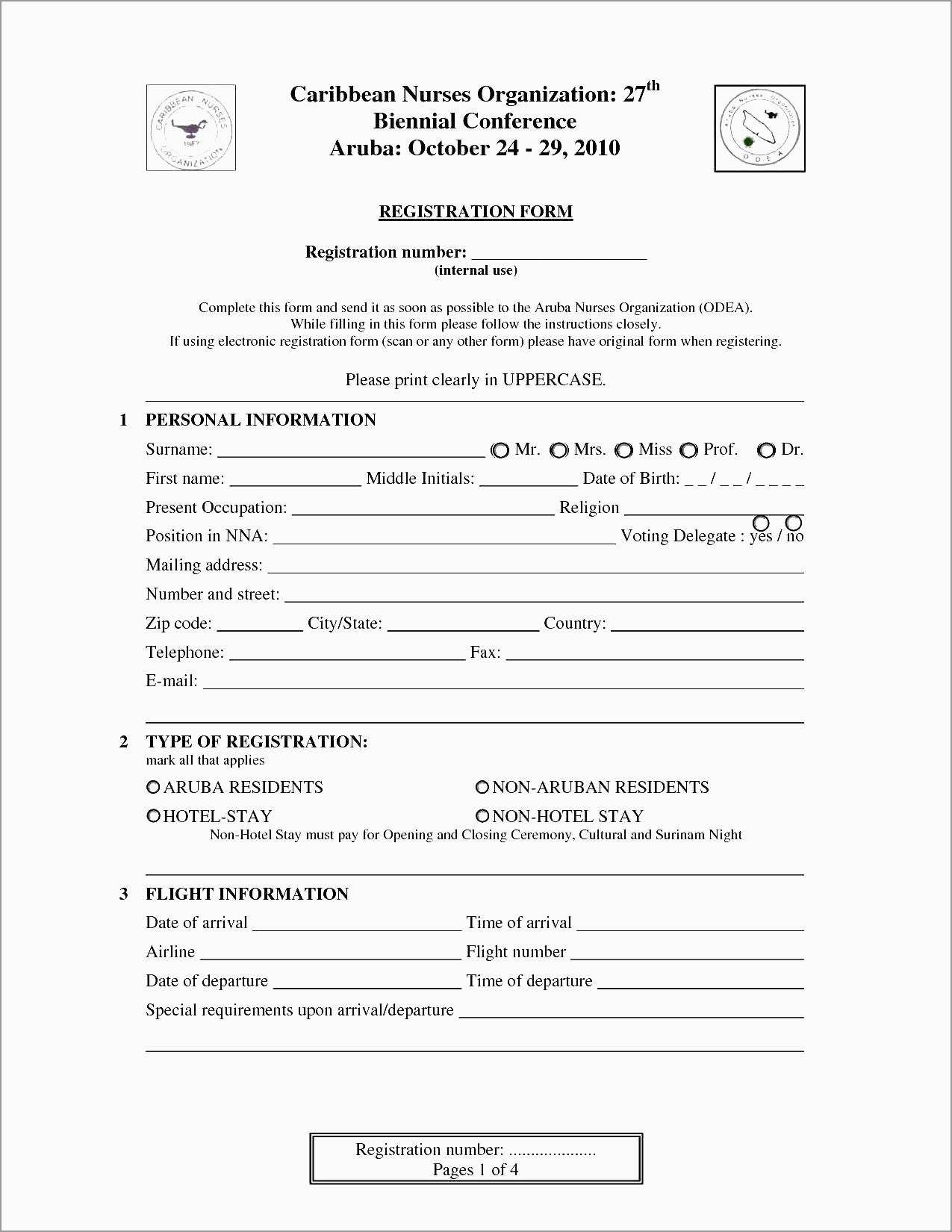 Inspirational Registration Form Template Word Free Download  Best Regarding Enquiry Form Template Word