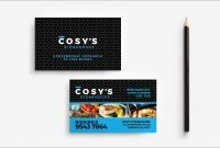 Inspirational Restaurant Business Card Template Free Download  Best pertaining to Frequent Diner Card Template