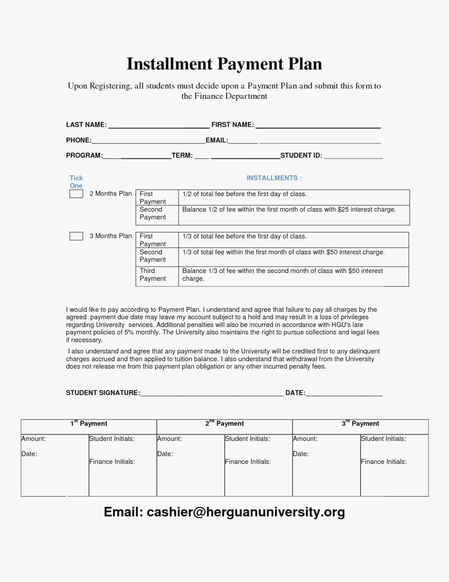 Installment Payment Agreement Letter Template Download Within Notarized Payment Agreement Template