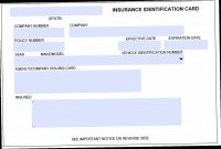 Insurance Cards Templates Is Insurance Cards Templates  Nyfamily intended for Car Insurance Card Template Download