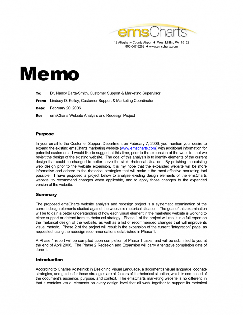 Internal Project Proposal Examples Format Business Memo Goal Regarding Internal Business Proposal Template