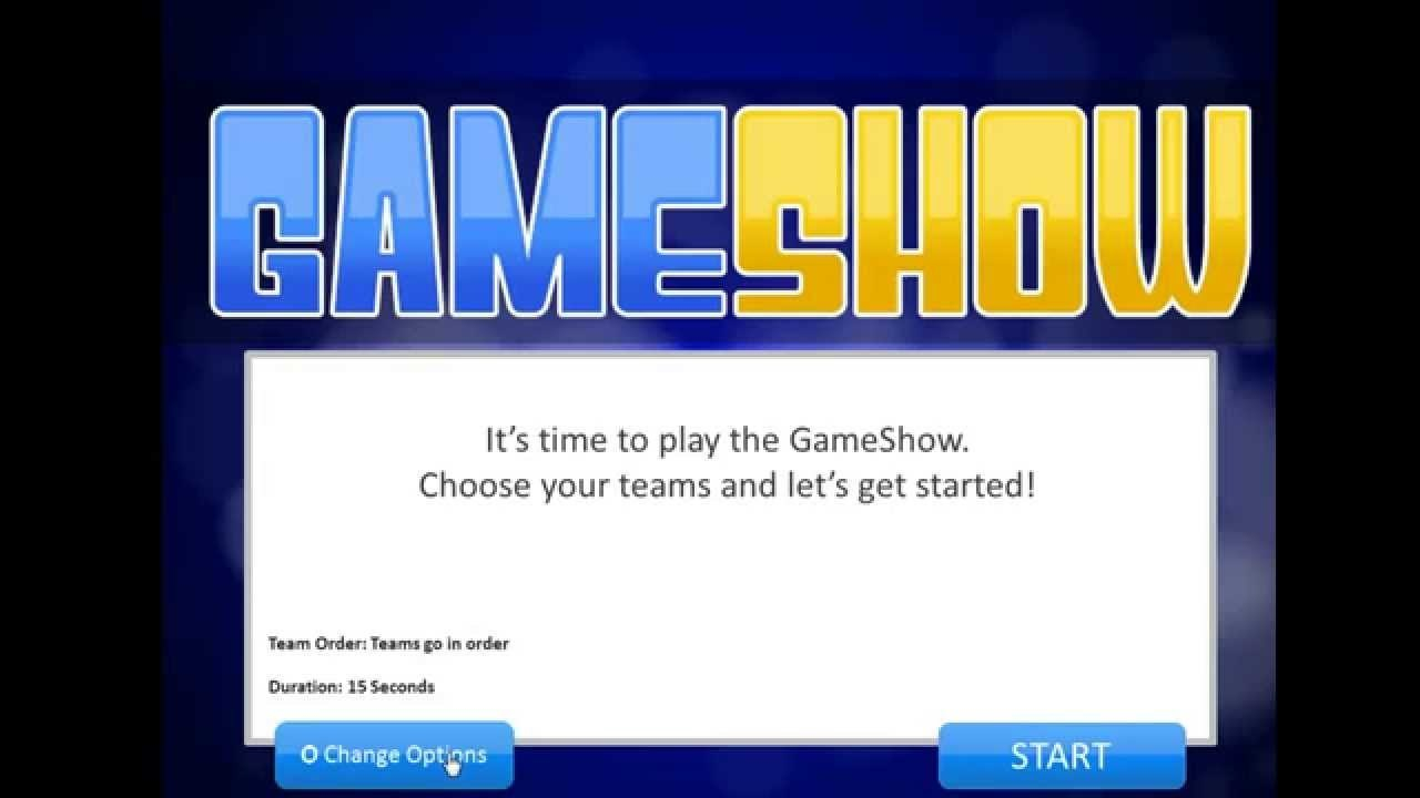 Introduction To The Powerpoint Gameshow Template  Youtube In Quiz Show Template Powerpoint