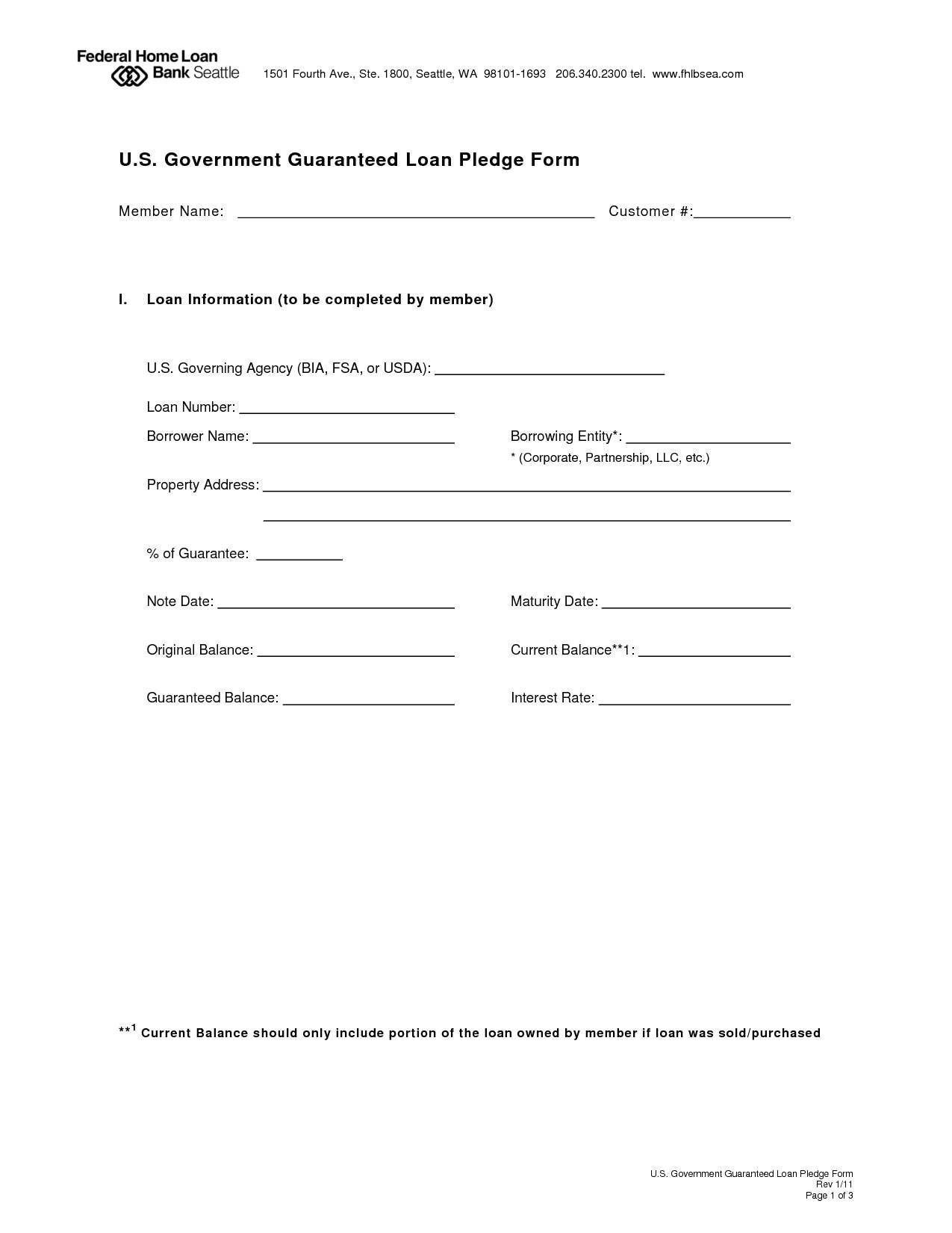 Investment Loan Agreement Template  Secured Loan Agreement Intended For Lma Loan Agreement Template