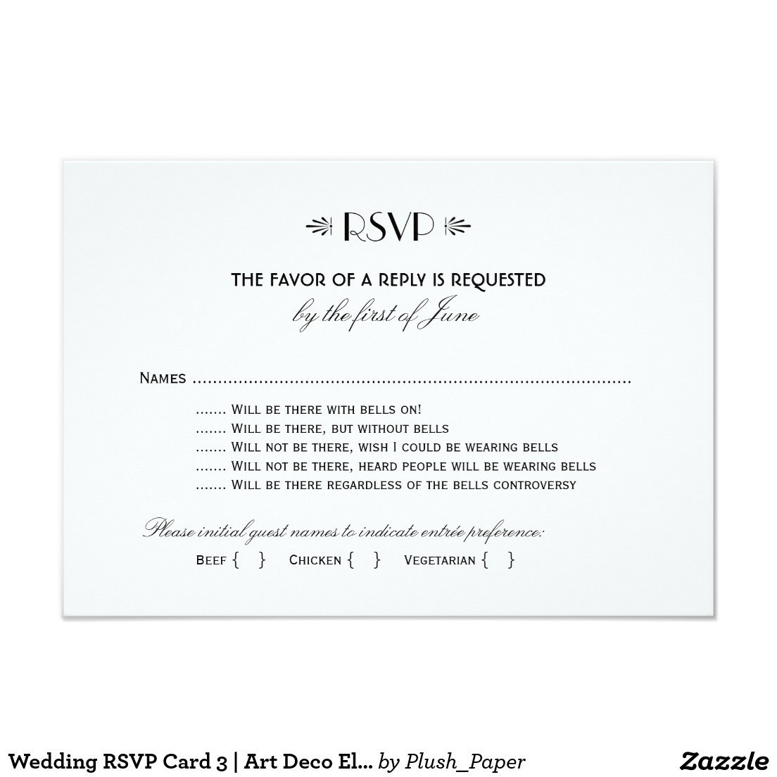 Invitations Endearing Rsvp Wedding Cards Inspirations — Claudiapink Inside Wedding Rsvp Menu Choice Template