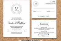Invitations Exquisite Wedding Response Cards Ideas — Salondegas throughout Wedding Rsvp Menu Choice Template