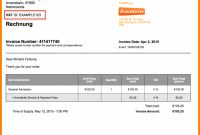 Invoice Example Euro Sample Eu Form Template Format  Letsgonepal for European Invoice Template