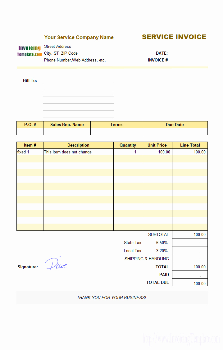 Invoice For Architectural Services Sample Dj Format Letsgonepal Within Invoice Template For Dj Services