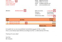 Invoice Sample Bb Deliveries Between Eu And Noneu  Ultrasmart All within European Invoice Template