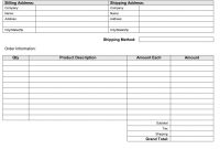 Invoice Template For Builders Or Constructionnvoice Form Forms pertaining to Invoice Template For Builders