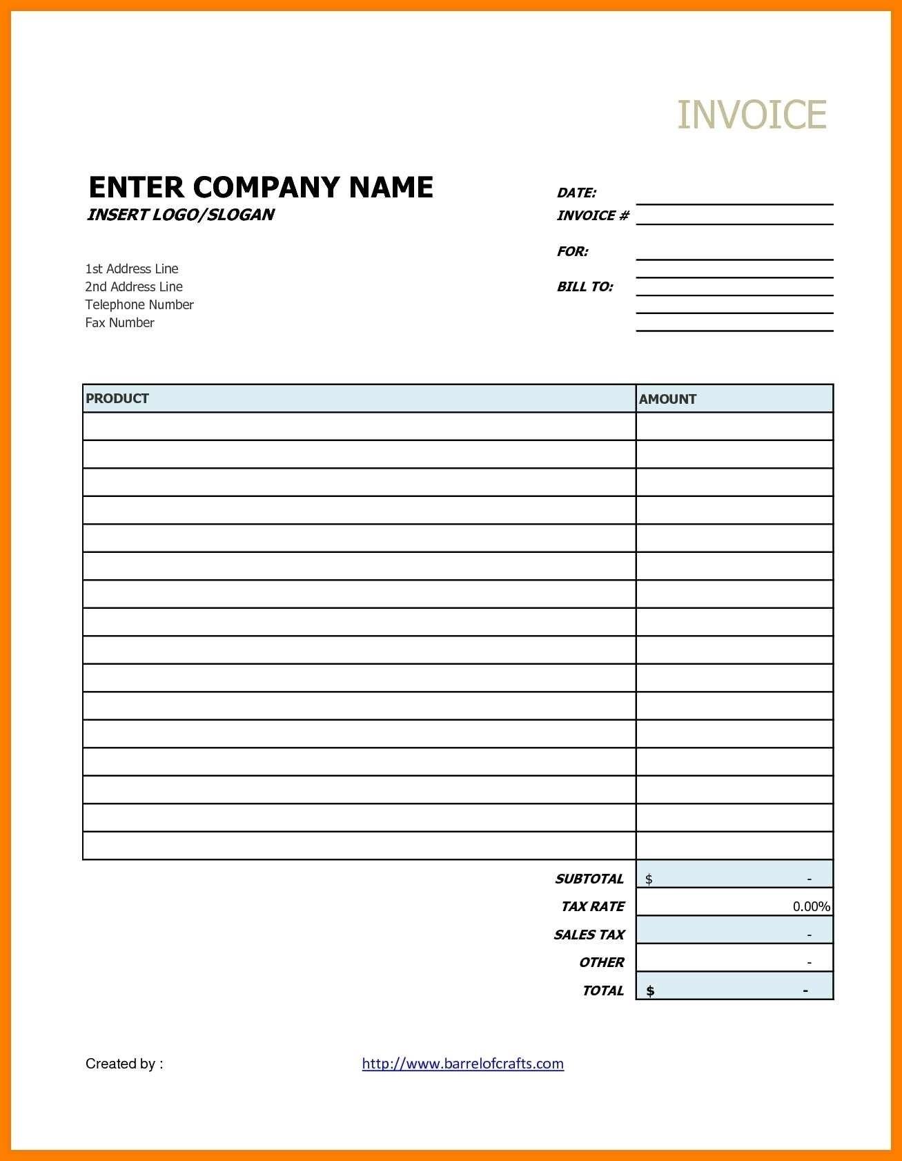 Invoice Template Google Drive Ideas Contractor Docs Best Intended For Google Drive Invoice Template