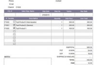 Invoice Template With Credit Card Payment Option Report Templates throughout Credit Card Bill Template