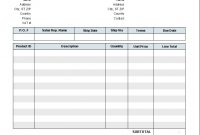 Invoice Template With Two Vat Tax Rates  Invoice Manager For Excel pertaining to European Invoice Template
