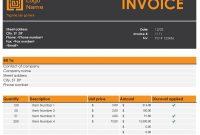 Invoice Tracker regarding Invoice Tracking Spreadsheet Template