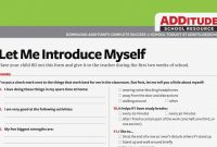 Is Adhd Teacher Form The Most Trending  Form Information intended for Daily Report Card Template For Adhd