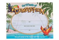 Island Vbs Certificates Of Completion  Stuff I Designed For Work for Free Vbs Certificate Templates
