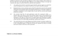 Isp Service Level Agreement Sla  Legal Forms And Business for Standard Sla Agreement Template