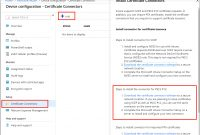 Issue Digicert Pkcs Certificates With Microsoft Intune  Microsoft Docs throughout No Certificate Templates Could Be Found