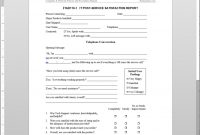 It Post Service Satisfaction Report Template with It Support Report Template
