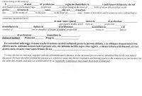 Italian Civil Death Document Translation Genealogy  Familysearch Wiki inside Death Certificate Translation Template