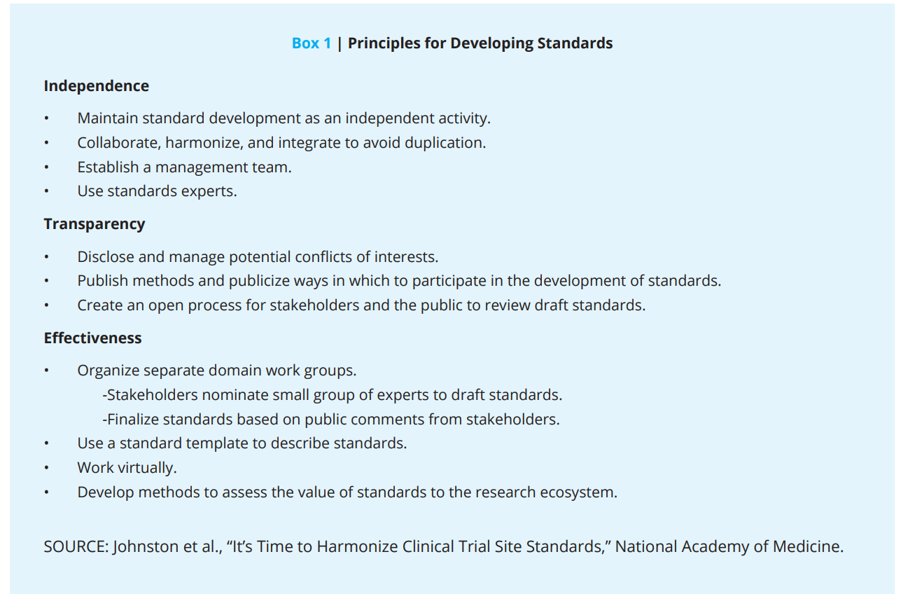 It's Time To Harmonize Clinical Trial Site Standards – National With Regard To Monitoring Report Template Clinical Trials