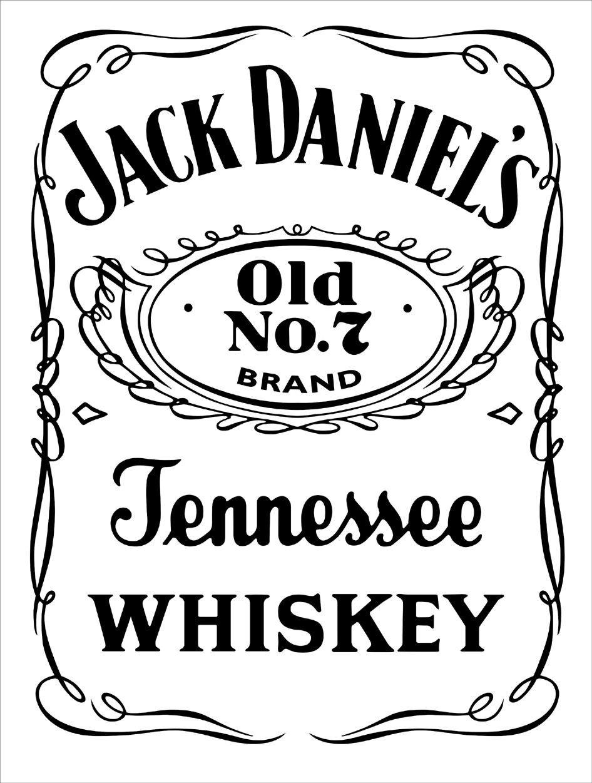 Jack Daniels Vector Dxf Top  Svg  Jack Daniels Label Jack Daniels In Jack Daniels Label Template