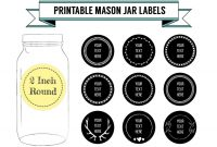 Jam Jar Labels Free Template – Teplates For Every Day within Mason Jar Label Templates