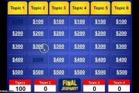 Jeopardy Powerpoint Template  Youtube throughout Jeopardy Powerpoint Template With Score