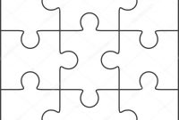 Jigsaw Puzzle Leere Vorlage  X  — Stockvektor © Binik for Blank Jigsaw Piece Template