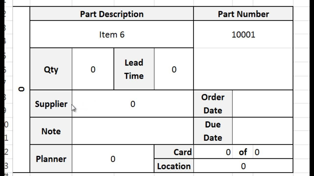 Kanban Card Template Intended For Kanban Card Template