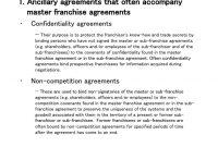 Key Elements Of Master Franchise Agreements  Ppt Download in Master Franchise Agreement Template