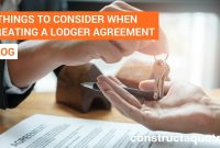 Key Things To Consider When Creating A Lodger Agreement For Landlord Lodger Agreement Template