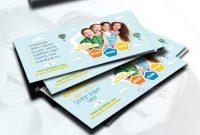 Kids Store Business Card Templates  Bizcard  Kids Store Card in Advertising Card Template