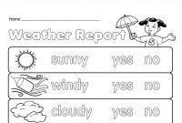 Kindergarten Baby Iq Game Nursery Activity Plan Template Free inside Kids Weather Report Template
