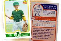 Kindergarten Flash Cards Unique Baseball Card Template Microsoft with regard to Baseball Card Template Microsoft Word