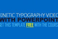 Kinetic Typography Explainer Video With Powerpoint  Youtube pertaining to Powerpoint Kinetic Typography Template