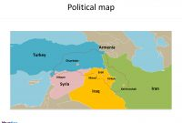 Kurdistan Map Free Templates  Free Powerpoint Templates With Regard To Blank City Map Template