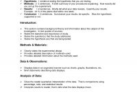 Lab Report Format Doc  Environmental Science Lessons  Lab Report within Science Lab Report Template