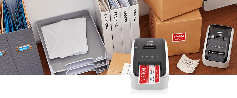 Label Printers  Desktop Monochrome  Color Label Printers  Brother With Brother Label Printer Templates