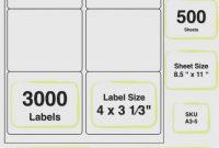 Label Printing Template  Per Sheet with regard to Label Printing Template Free