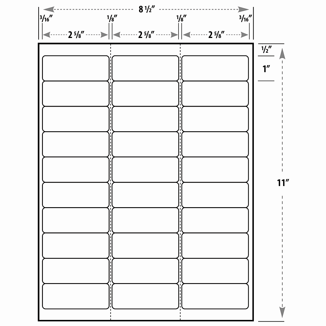 Label Sheet Template – Emelinespace Intended For Address Label Template 16 Per Sheet