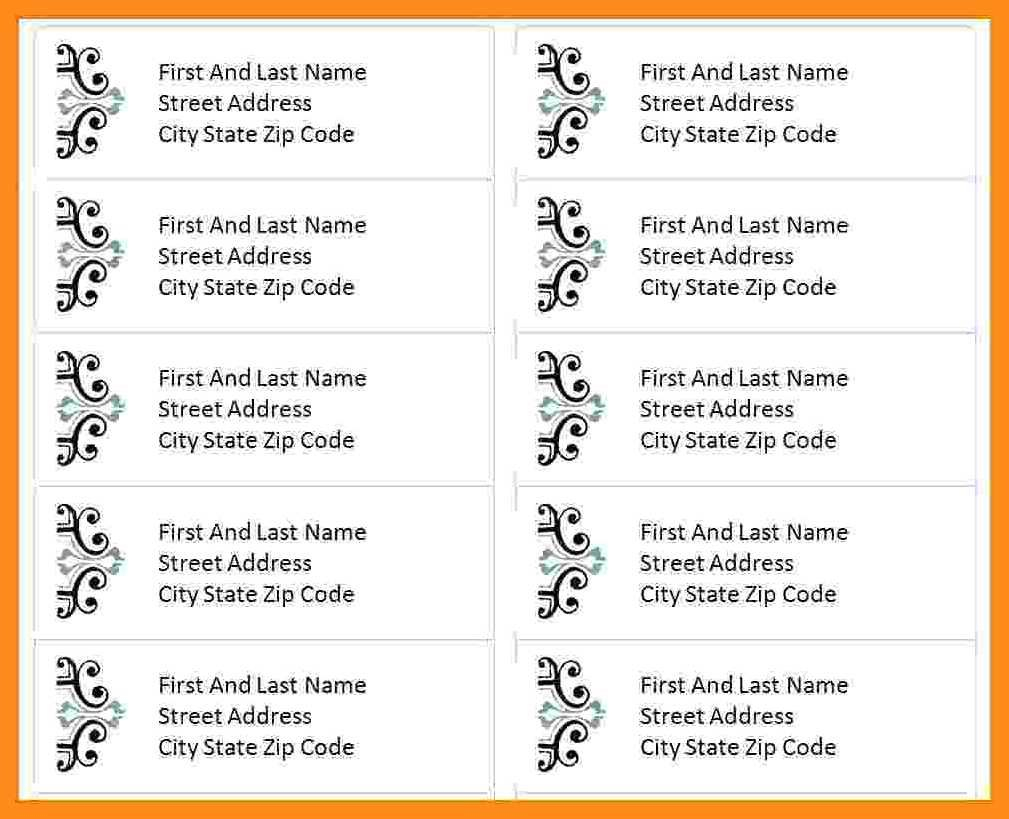 Label Template For Mac Pages  Lascazuelasphilly Intended For Label Templates For Pages