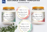 Label Template Id for Food Product Labels Template