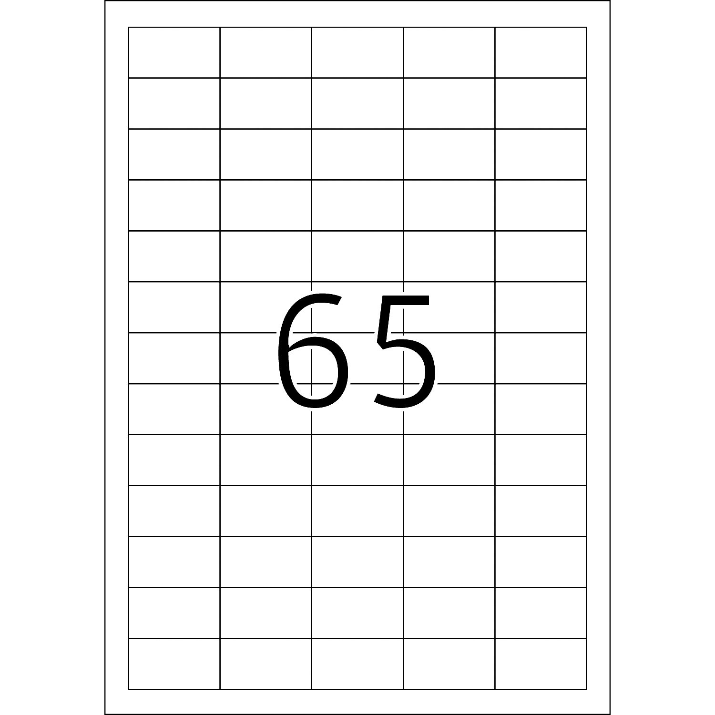 Labels A Superprint Regarding 65 Label Template