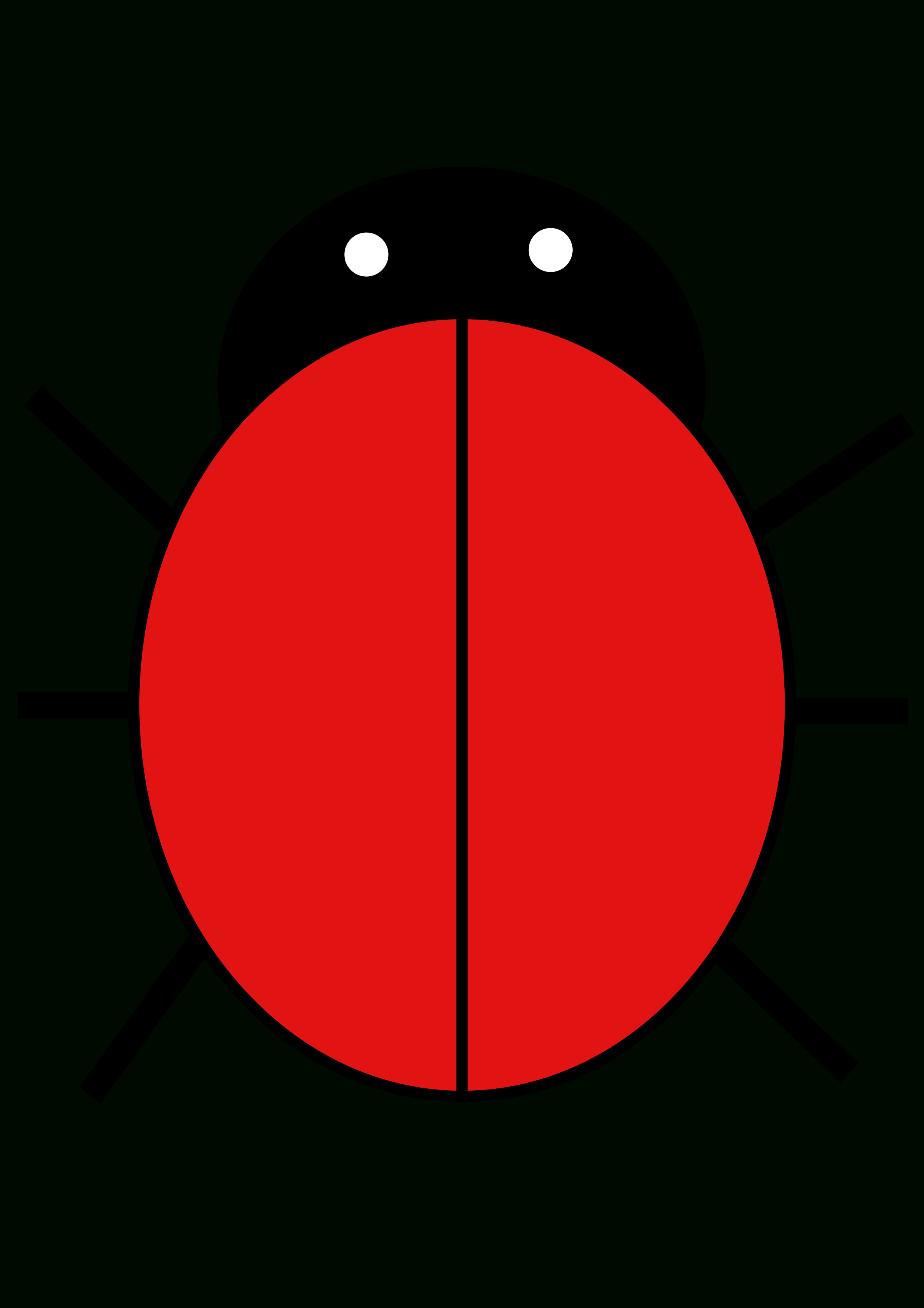 Ladybird  Free Images At Clker  Vector Clip Art Online Throughout Blank Ladybug Template