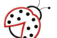Ladybug Outline Photos Of Template Of Ladybug Free Printable Clip inside Blank Ladybug Template