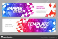Layout Banner Template Design For Sport Event  — Stock Vector in Event Banner Template