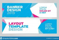 Layout Banner Template Design For Winter Sport Event  Stock with regard to Event Banner Template