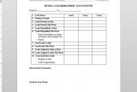 Lead Management Status Report Template for Sales Management Report Template