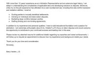 Leading Professional Arbitration Representative Cover Letter with regard to Conflict Resolution Agreement Template